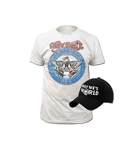 Wayne's World T-shirt and Hat Costume Set (Adult Medium)