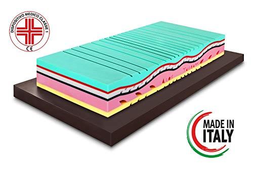 Materasso Memory ALOE THERAPY alto 26cm Singolo 80x190...