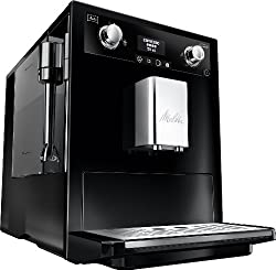 Melitta E 965-101 silber Kaffeevollautomat Caffeo Gourmet –Aromaeinstellung, Profi Milchschaumquirl