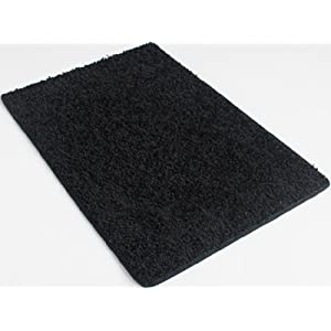Burn Rubber Black – 9'x12′ Custom Carpet Area Rug