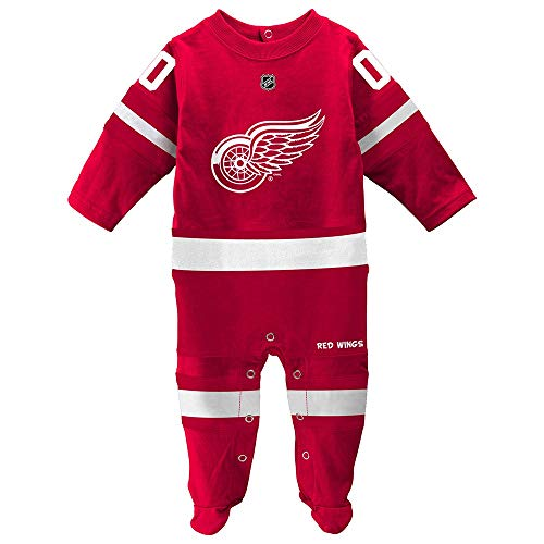 Outerstuff Detroit Red Wings Coverall Infant Baby (6-9 Months)