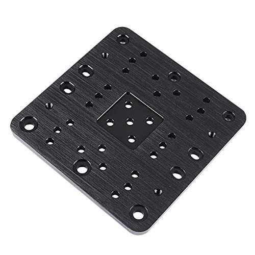 XBaofu 1pc C-Beam Gantry Plate-Xlarge For Cnc Openbuilds And 3D Printer (Color : Black)