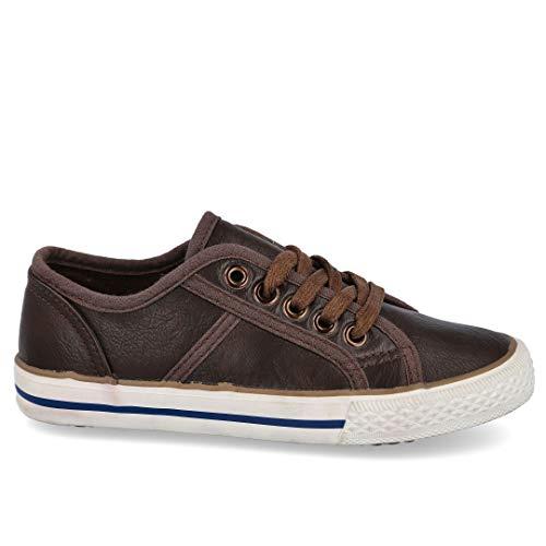 BUBBLE BOBBLE A430 Zapatos para NIÑO - Sintético para: NIÑO Color: Marron Talla: 31