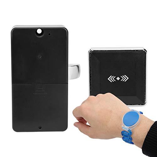 Cerradura de Armario, Cerradura electrónica, Alarma de bajo Voltaje, Dispositivo antirrobo de Seguridad para el hogar para baño de Sauna