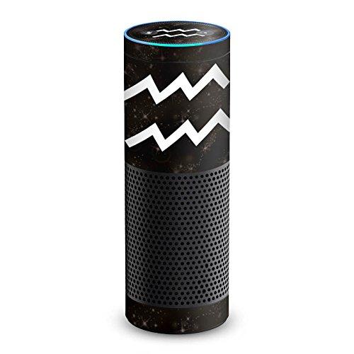 DeinDesign Cover kompatibel mit Amazon Echo 1. Generation Folie Skin Sticker aus Vinyl-Folie Sternzeichen Wassermann Future
