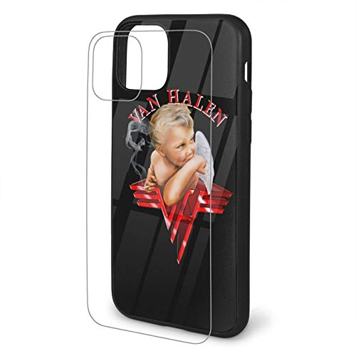 Van Halen 1984 iPhone 11 TPU Glass Phone Case iPhone 11 Case Silicone Phone Case Cover Scratch-Resistant 9h Anti-Shock Absorbing Protective Case
