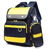 Riduzione del Carico E Protezione della Colonna Vertebrale Studenti Schoolbag, Studenti Spalle Zaino A Tracolla Traspirante, Zaino A Tracolla di Grande capacità Yellow
