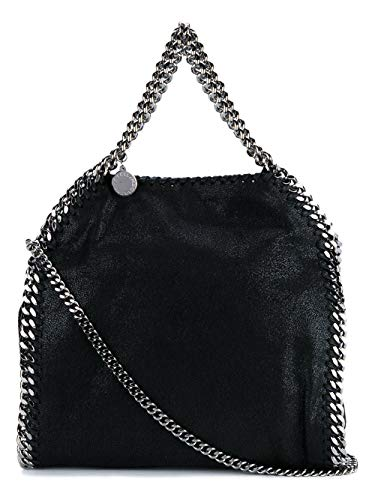 Stella McCartney Moda De Lujo Mujer 371223W91321000 Negro Poliéster Bolso De Hombro | Temporada Permanente