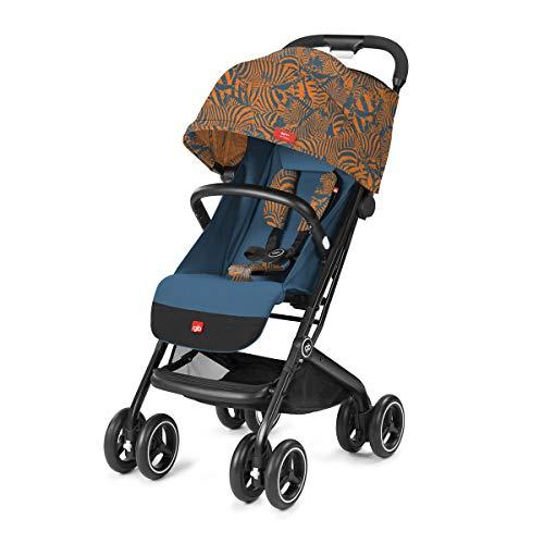 gb Gold Buggy Qbit+ All Terrain Zebra Fashion Edition, 3-in-1 Reisesystem, Ab Geburt bis 15 kg (ca. 4 Jahre), Atlantic Orange