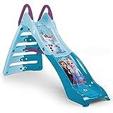INJUSA - Tobogán My First Slide Frozen Color Azul Recomendado a Niños +2 Años con Entrada de Agua y Decoración Permanente