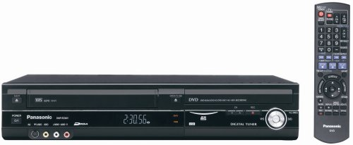 Panasonic DMR-EZ48VP-K 1080p Upconverting VHS DVD Recorder with Built In Tuner (Discontinued in...