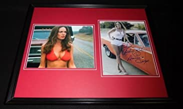 Catherine Bach Bikini Signed Framed 16x20 Photo Set AW Dukes of Hazzard Daisy