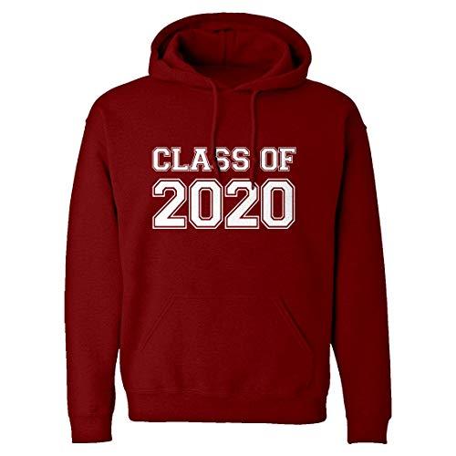 Hoodie Class of 2020 Large Red Hooded Sweatshirt