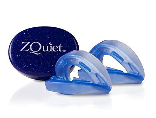 ZQuiet Set - 2 Anti-Schnarchschienen (2 mm und 6 mm Vorschub) - effektive Schnarchstopper - gute Alternative zu Nasendilatatoren, Nasenpflastern, Nasenklammern, Nasensprays, Schnarch-Mundstücken und Anti-Schnarchringen (SomniShop Set)
