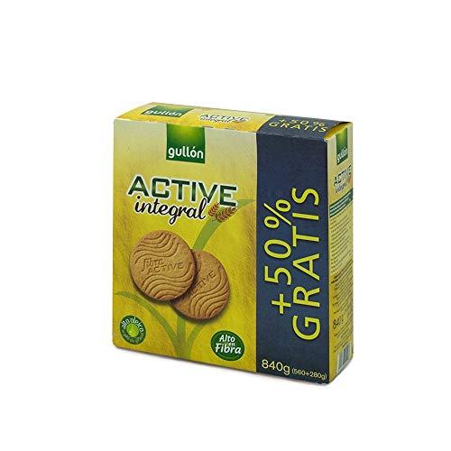 Gullón Galletas Fibra Integral Active, 840g