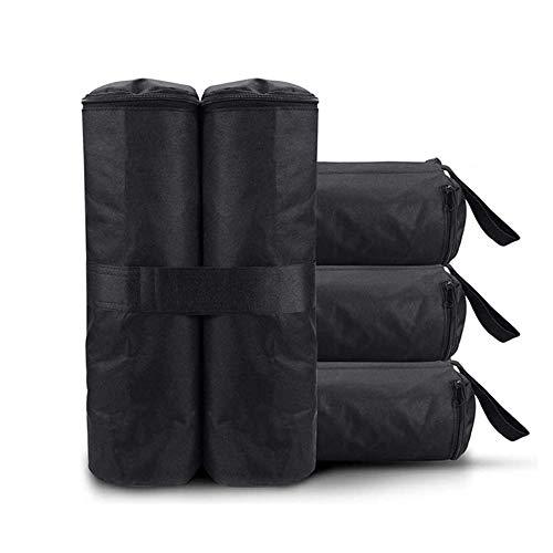 Paquete de 4 bolsas de pesas para toldo - Refugio instantáneo para piernas con toldo, bolsa de arena para tienda de campaña, sombrilla, carpas al aire libre, puestos de mercado, arena no incluida