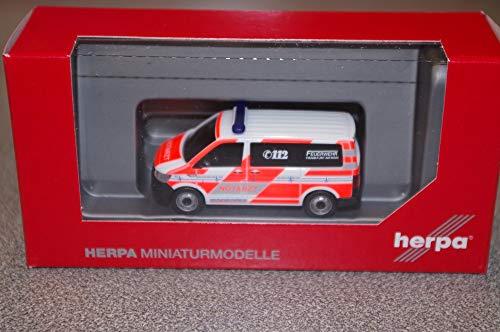 Herpa 094986 - VW T6 Notarzt Feuerwehr Frankfurt/Main - 1:87