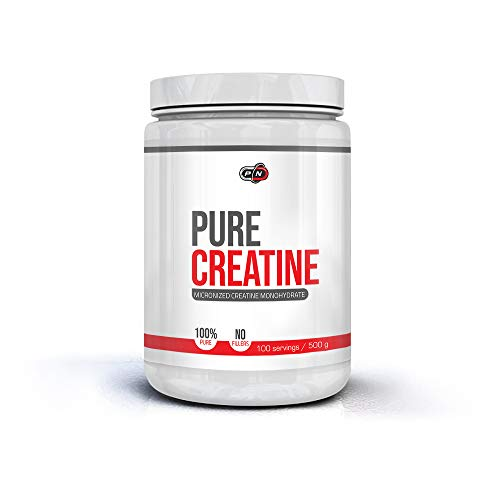 Pure Nutrition CREATINE Monohydrate Powder 5000mg High Strength Supplement Increases Muscle Mass Performance Recovery Endurance Micronised Optimum Absorption No Fillers 100% Pure 50 100 200 Servings