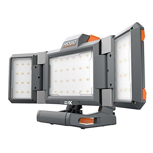 RIDGID R8694221B GEN5X 18-Volt Hybrid Folding Panel Light