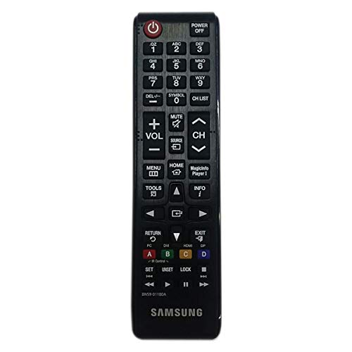 Samsung BN59-01180A - Mando a Distancia de Repuesto para TV, Color Negro