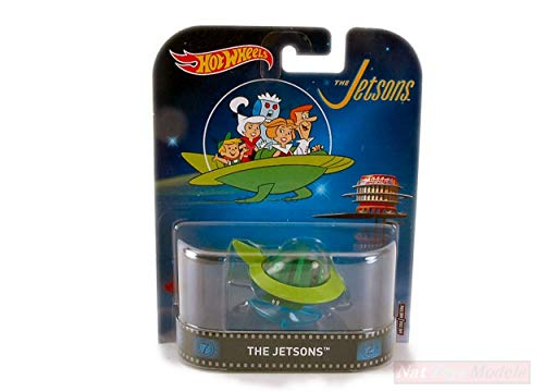 Hot Wheels HWDMC55FRF24 The Jetsons Capsule Car 1:64 MODELLINO Die Cast Model Compatible con