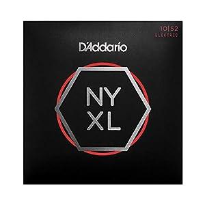 NYXL presenta la exclusiva aleación de acero de alto carbono de D'Addario, para una resistencia sin precedentes. Fabricadas en Nueva York. Estabilidad de afinación mejorada en comparación con las cuerdas con entorchado de niquel tradicionales - llega...