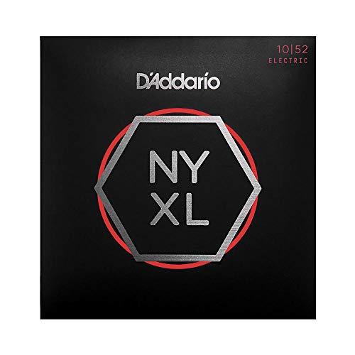 Cuerdas para Guitarra Eléctrica D Addario NYXL1052 Nickel Wound, Light Top   Heavy Bottom, 10-52,