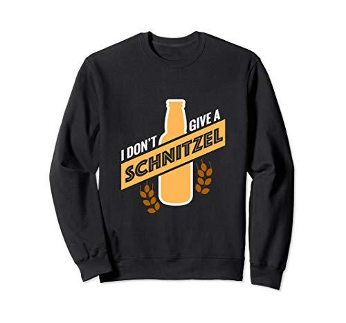 Bier Schnitzel Outfit I Party Saufen Alkohol Fun Geschenk Sweatshirt