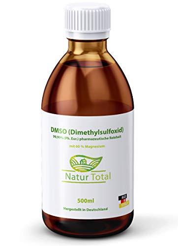 DMSO mit Magnesiumöl 500ml - Dimethylsulfoxid + Magnesiumspray - DMSO mit 99,9% Reinheit Ph. Eur