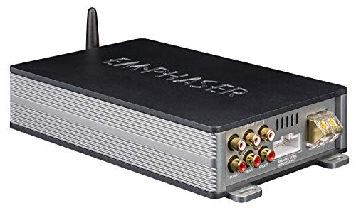 Emphas EA-D500 Digit-Line 5-kanaals DSP-versterker met Bluetooth audio streaming en Android of iOS smartphone-bediening
