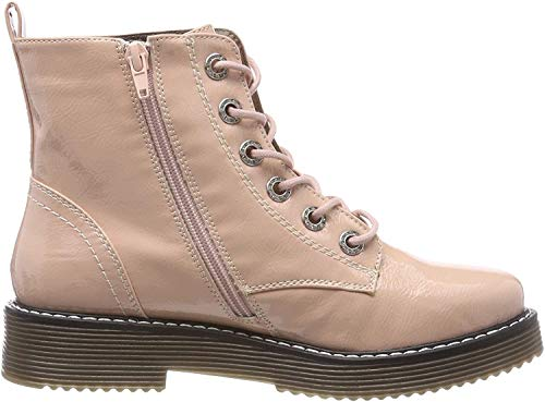 bugatti Damen 431549325900 Kurzschaft Stiefel Stiefeletten,  Pink (Rose 3400),  40 EU