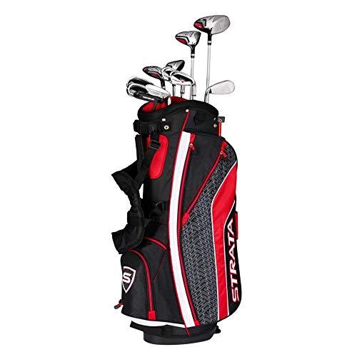 Callaway Golf Men's Strata Tour Complete Golf Set (16-Piece, Right Hand, Stiff Flex) -  4PKR190916037