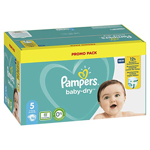 Pampers 81723660 Baby-Dry Pants windeln, weiß