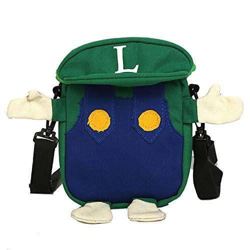 MIAOGOU Bolso de Mario Anime Super Mario Cappy Bolsas Bros Luigi Lona Cosplay Accesorios de Disfraz para Adultos nios Navidad Carnaval Fiesta Prop