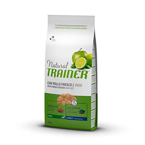 Trainer Natural Cibo per Cani Maxi Adult Pollo&Riso 12kg