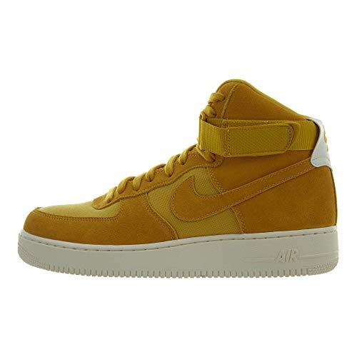 Nike Air Force 1 High '07 Suede, Scarpe da Fitness Uomo, Multicolore (Yellow Ochre/Yellow Ochre/Sail 700), 45 EU