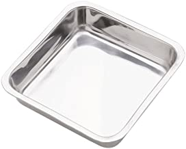 Norpro 7.5-Inch Stainless Steel Cake Pan, Square (3814)