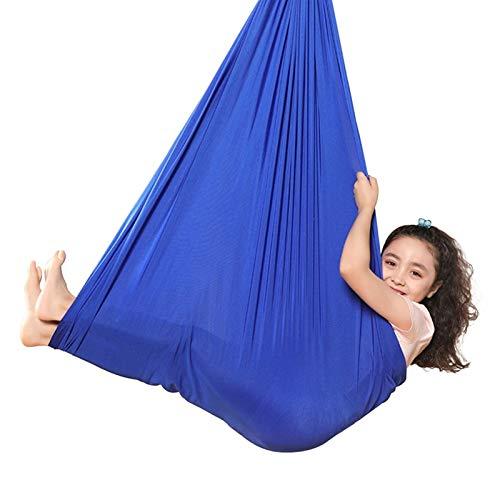 ZCXBHD Columpio de terapia interior para niños con necesidades especiales para niños y adultos, autismo, hiperactividad, SPD, aspergers, integración sensorial, Snuggle Cuddle Pod Therapy Swing