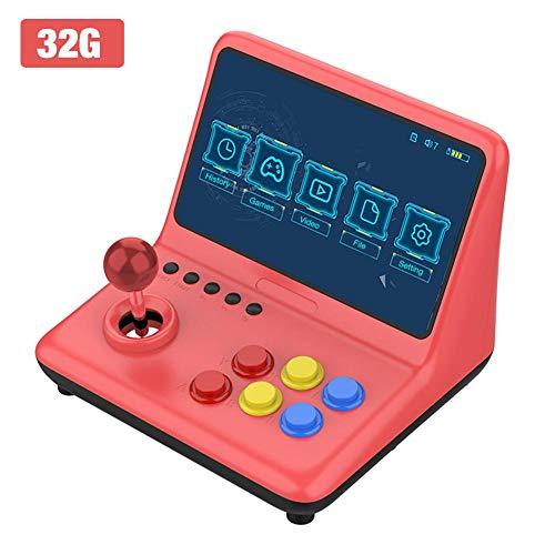 hinffinity Handheld Spielekonsole, Tragbare Retro Videospielkonsole Retro Mini Arcade Konsole Spielekonsole Mit Joysticks, Bestes Geburtstagsgeschenk Für Kinder