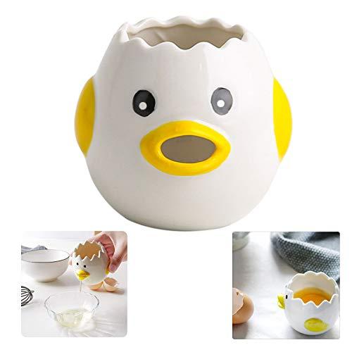 Eiwit Keuken Tool Eiwit Separator Eigeel Separator Eigeel Keuken Gadgets Kitchen Egg Separator Keukengadgets Bakgereedschap Voor Keuken, Bakkerij, Camping, Vaatwasmachinebestendig (Geel)