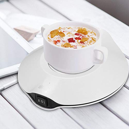 AFGH Posavasos Calentador de café Calentador de TazasUSBy Posavasos para Bebidas frías Té de Oficina Calentador de café MatCalientaTaza Nuevo