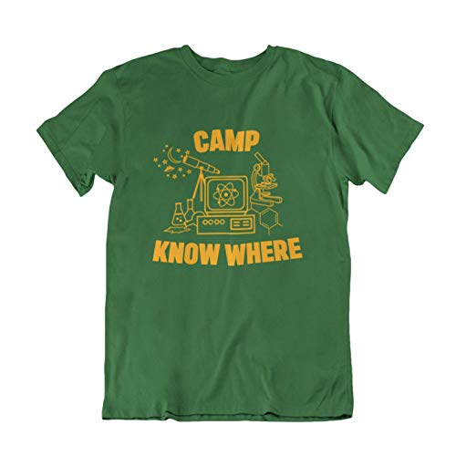 buzz shirts Camp Know Where - TV Inspired Retro Mens or Wome