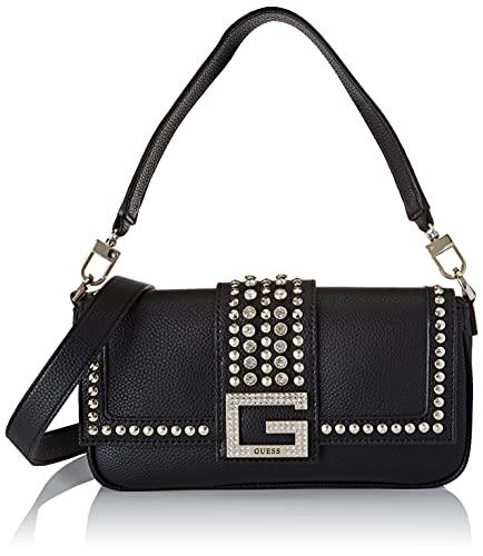 GUESS Womens HWVG79-84190-BLA handväska, svart, medium
