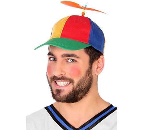 Atosa-58855 - Cappello da Bambino Repellente elica, Multicolore, Unico (58855
