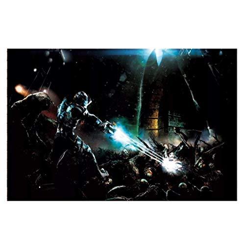 JFGJF Dead Space 3 imágenes de Juegos Impresiones en Lienzo Carteles e Impresiones artísticos de Pared Pintura en Lienzo decoración del hogar-24X32 Pulgadas sin Marco