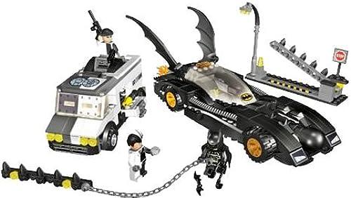 LEGO - Bathomme - jeu de construction - Batmobile contre double face