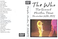The Who Numbers at the Summit 1975