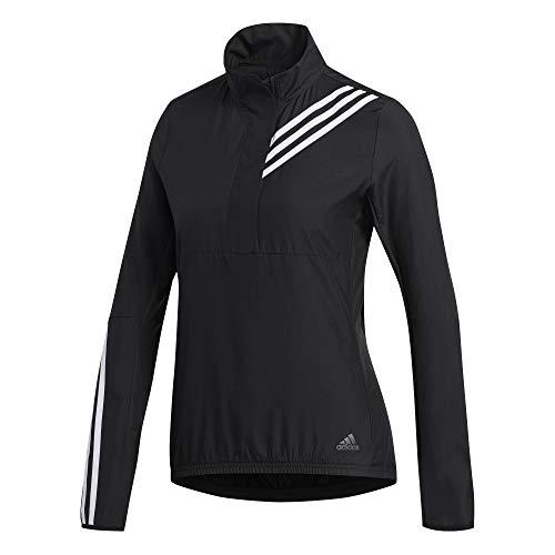 adidas Run It Jacket W Chaqueta de Deporte, Mujer, Black, XS