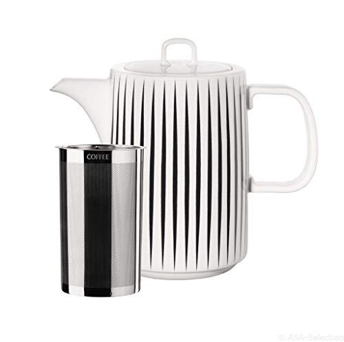 ASA MUGA 29371082 Kaffeekanne, Weiß, 1 l