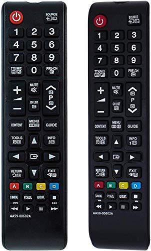 U-Lighting - Telecomando universale di ricambio AA59-00602A per Samsung UE22ES5000 UE26EH4000W UE32EH4003W UE32EH5000W UE40EH5000W PS43E450A1W UE46EH5000W PS51E4444 50 A1 W.